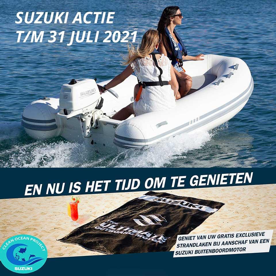 Actie-Suzuki-gratis-strandlaken-bij-Allround-Watersport-Meerwijck