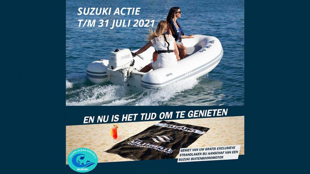 Actie-Suzuki-gratis-strandlaken-bij-Allround-Watersport-Meerwijck_2